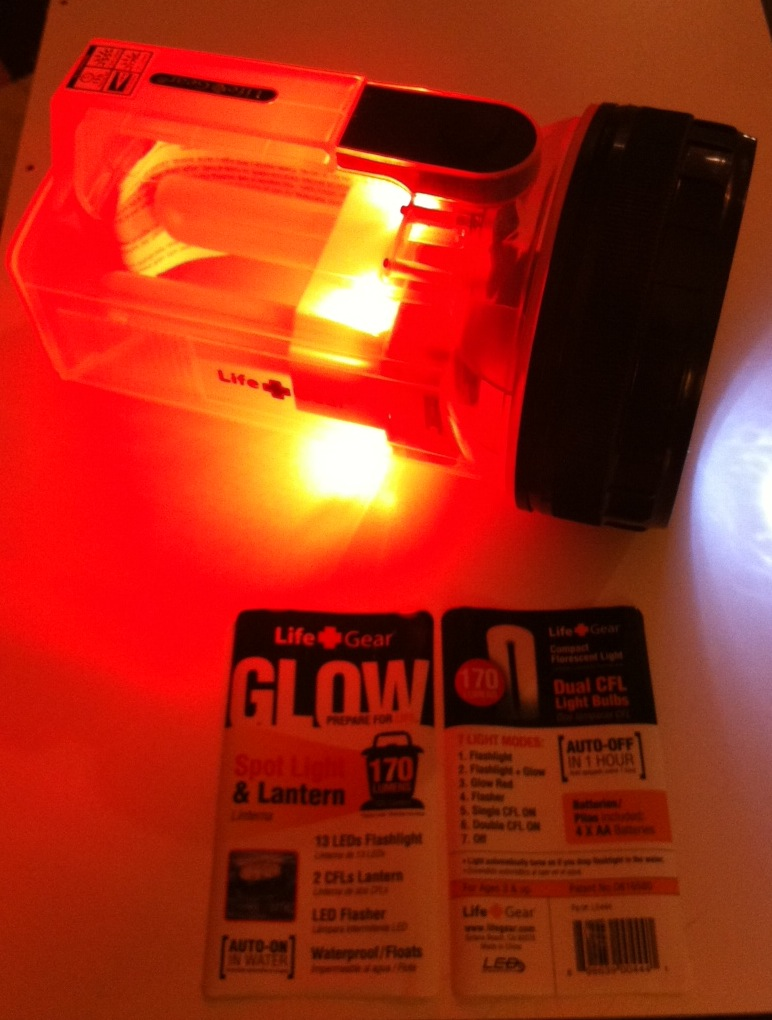 First Look- New Life-Gear Lantern