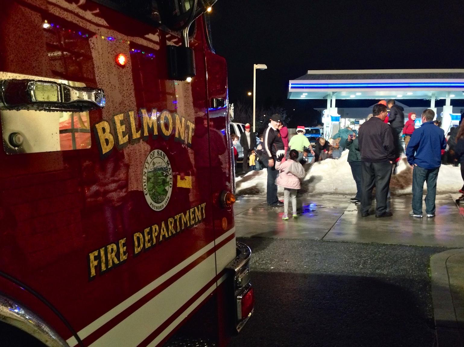 belmont fire - photo #1