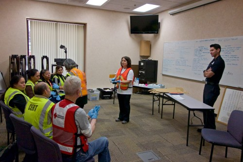 Redwood City CERT, Skills Day,