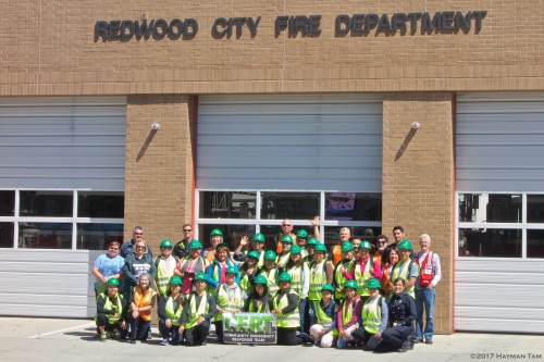 Redwood City CERT, Skills Day,