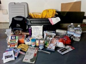 CERT  kit, supplies,