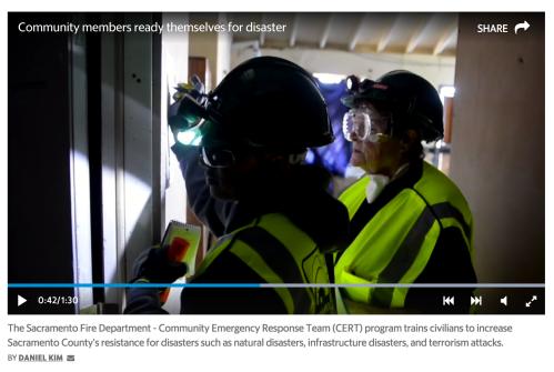 cert emergency disaster preparedness belmont san carlos | A